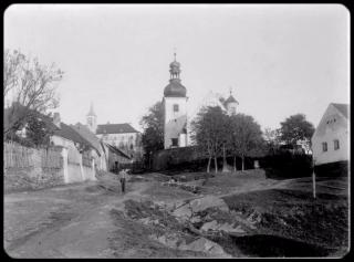 Historie obce Radenín v 19. století