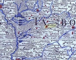 Historie obce Radenín (Hradenín) v 18. století