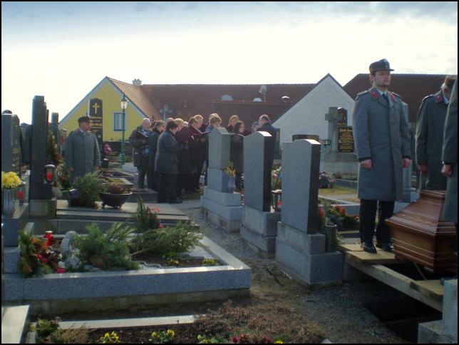komtesa Ernestine Helene Baillet de Latour-pohřeb