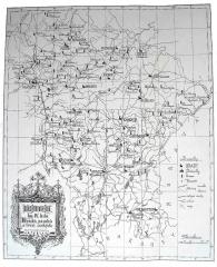 mapa hradů