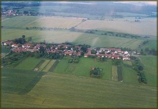 letecký snímek Terezína