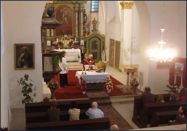 kostel Radenín