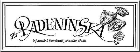 titulek Radenínský čtvrtletník - září 2016